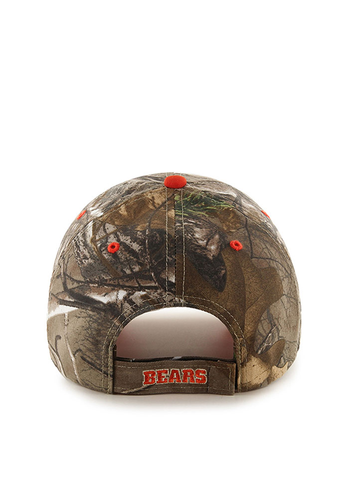 '47 Chicago Bears RealTree Frost MVP Adjustable Hat - Green - Image 2
