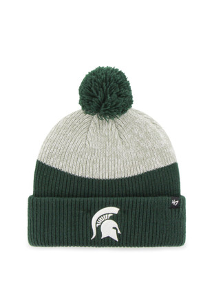 '47 Michigan State Spartans Green Backdrop Knit Hat