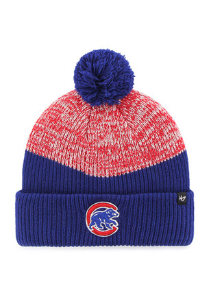 '47 Chicago Cubs Blue Backdrop Knit Hat