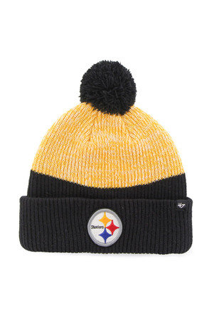 '47 Pittsburgh Steelers Blue Backdrop Knit Hat