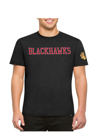 47 Chicago Blackhawks Black Fieldhouse Fashion Tee