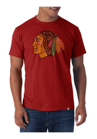 47 Chicago Blackhawks Red Flanker Fashion Tee