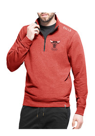 Chicago Bulls 47 Forward Compete 1/4 Zip Pullover - Red