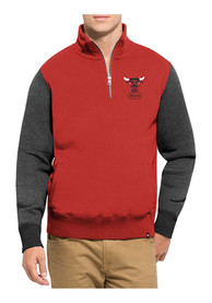 Chicago Bulls 47 Triple Coverage 1/4 Zip Fashion - Red