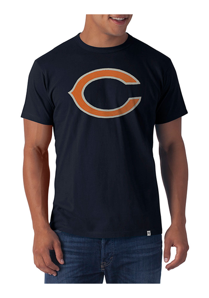 47 Chicago Bears Navy Blue Knockout Fashion Tee