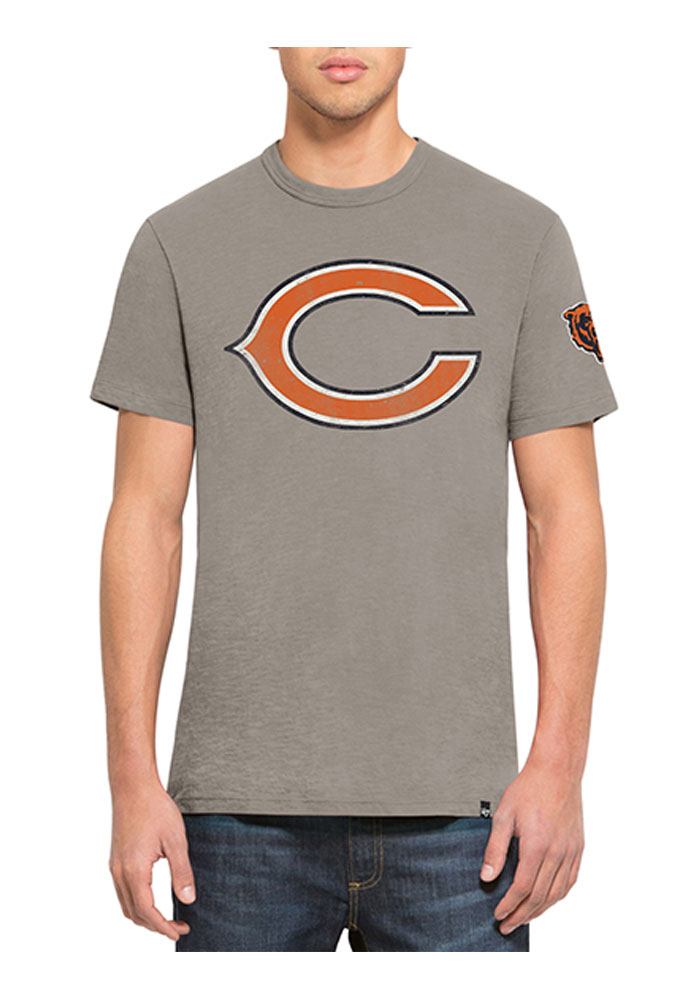 47 Chicago Bears Blue Two Peat Short Sleeve Fashion T Shirt - Image 1