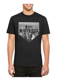 47 Chicago White Sox Black Crosstown Flanker Fashion Tee