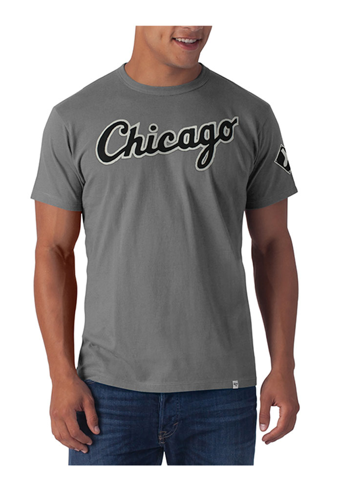 1a694dbec 47 Chicago White Sox Black Fieldhouse Short Sleeve Fashion T Shirt - Image 1
