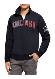 47 Chicago White Sox Navy Blue Striker 1/4 Zip Fashion Pullover