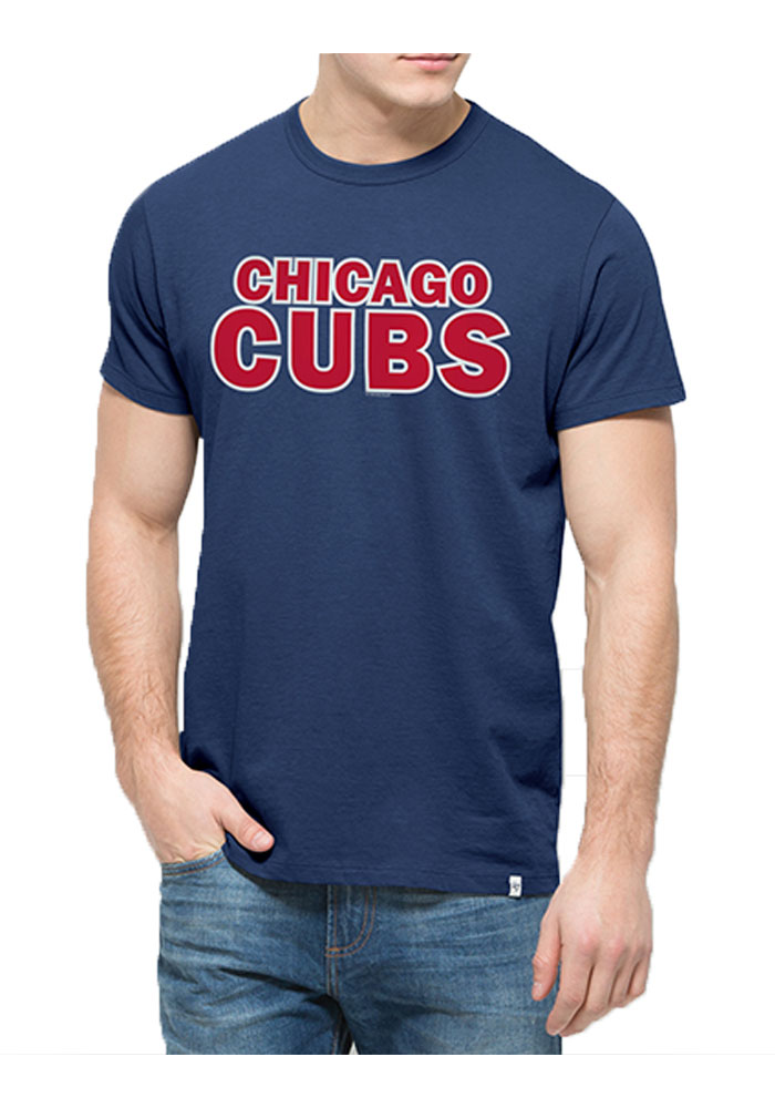 47 Chicago Cubs Blue Flanker MVP Fashion Tee