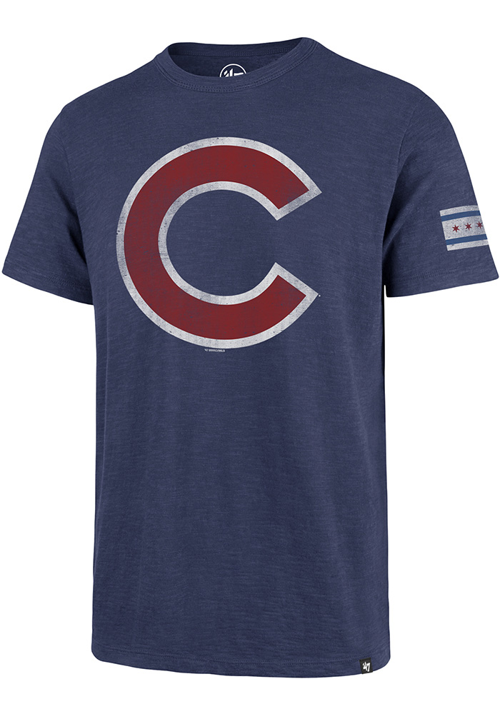47 Chicago Cubs Blue Two Peat Fashion Tee