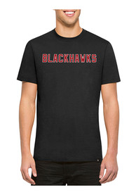 47 Chicago Blackhawks Black Flanker MVP Fashion Tee