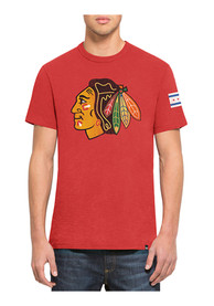 47 Chicago Blackhawks Red Two Peat Fashion Tee
