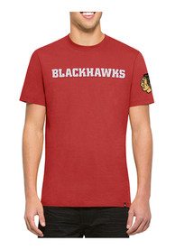 47 Chicago Blackhawks Red Fieldhouse Fashion Tee