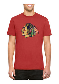47 Chicago Blackhawks Red Knockout Fashion Tee