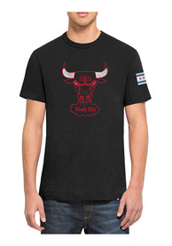 47 Chicago Bulls Black Two Peat Fashion Tee