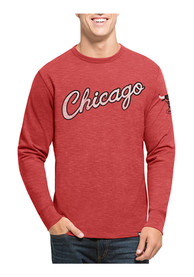47 Chicago Bulls Red Two Peat Fashion Tee