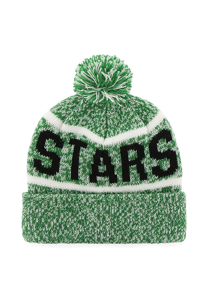 '47 Dallas Stars Kelly Green Northmont Mens Knit Hat - Image 2