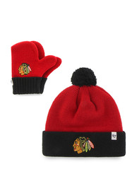 Chicago Blackhawks Baby 47 Bam Bam Knit Hat - Red