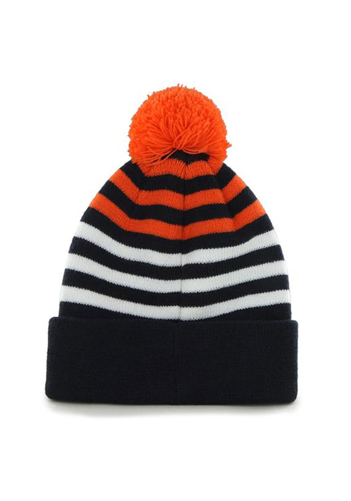 47 Chicago Bears Navy Blue Yipes Youth Knit Hat - Image 2