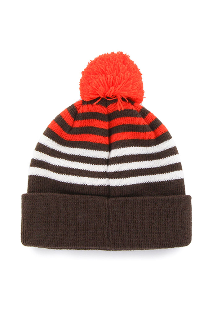 47 Cleveland Browns Brown Yipes Youth Knit Hat - Image 2