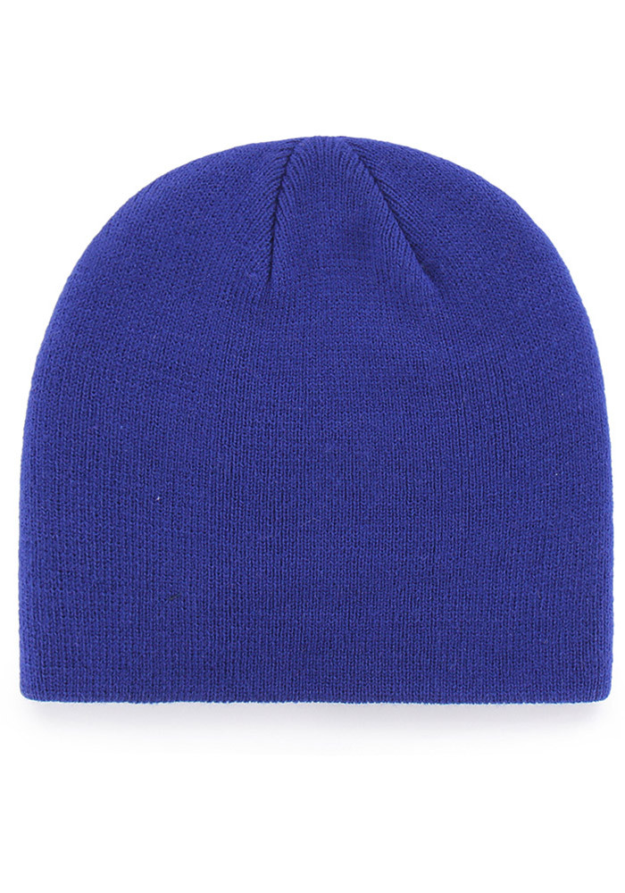 '47 Chicago Cubs Blue Beanie Mens Knit Hat - Image 2