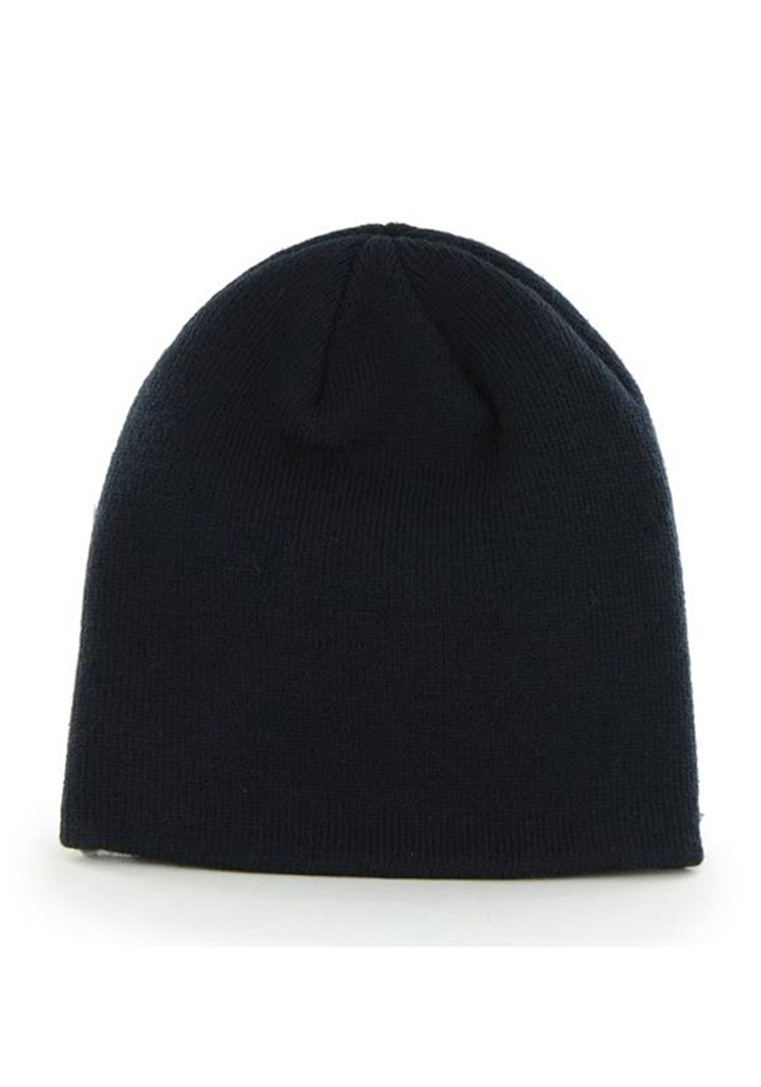 '47 Chicago Bears Navy Blue Beanie Mens Knit Hat - Image 2