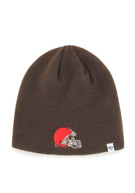 47 Cleveland Browns Brown Beanie Knit Hat