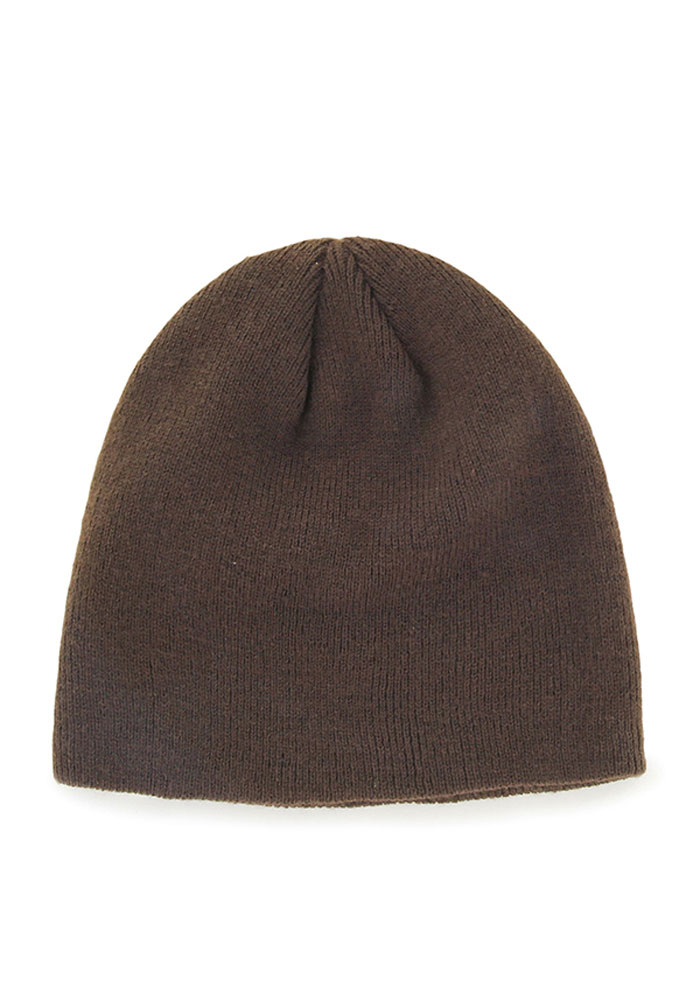 '47 Cleveland Browns Brown Beanie Mens Knit Hat - Image 2