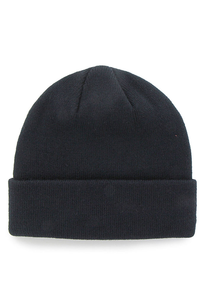 '47 Chicago Bears Navy Blue Raised Cuff Mens Knit Hat - Image 2