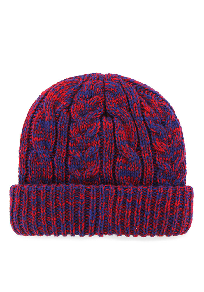 '47 Chicago Cubs Blue Prima Cuff Womens Knit Hat - Image 2