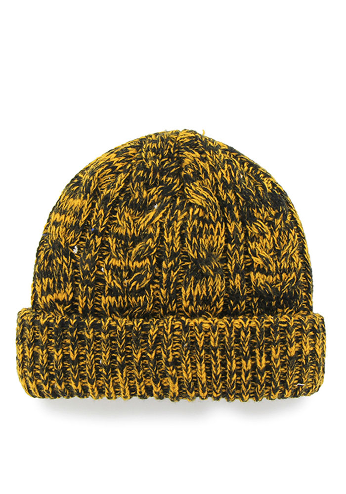 '47 Pittsburgh Steelers Black Prima Cuff Womens Knit Hat - Image 2