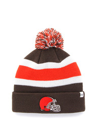 47 Cleveland Browns Brown Breakaway Knit Hat