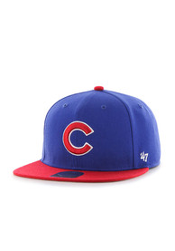 Chicago Cubs Youth Blue Lil Shot Snapback Hat
