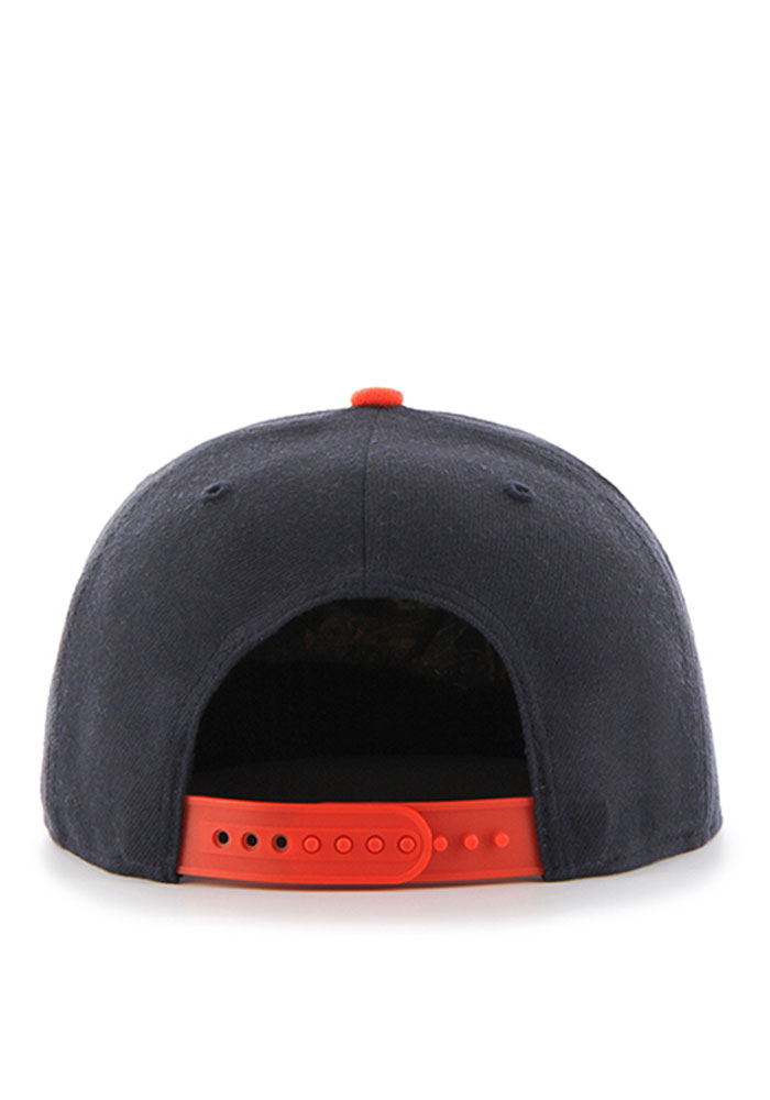 Chicago Bears Navy Blue Lil Shot Youth Snapback Hat - Image 2