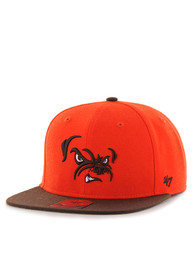 Cleveland Browns Youth Orange Lil Shot Snapback Hat