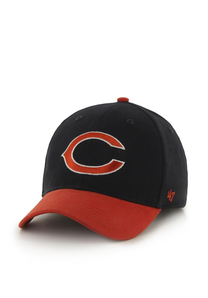 47 Chicago Bears Navy Blue Short Stack Youth Adjustable Hat - Image 1