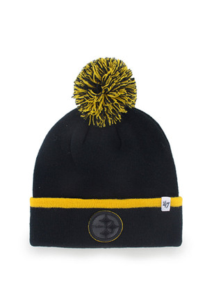 '47 Pittsburgh Steelers Orange Baraka Knit Hat