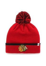 47 Chicago Blackhawks Red Baraka Knit Hat