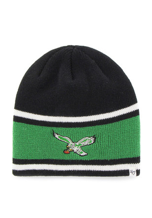 '47 Philadelphia Eagles Mens Black Quincy Knit Hat