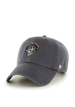 47 Oklahoma State Cowboys Grey Clean Up Adjustable Hat d8255e6c0a3