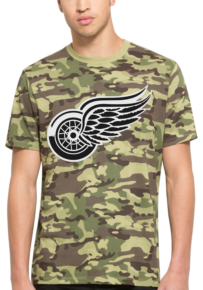 47 Detroit Red Wings Black Alpha Fashion Tee