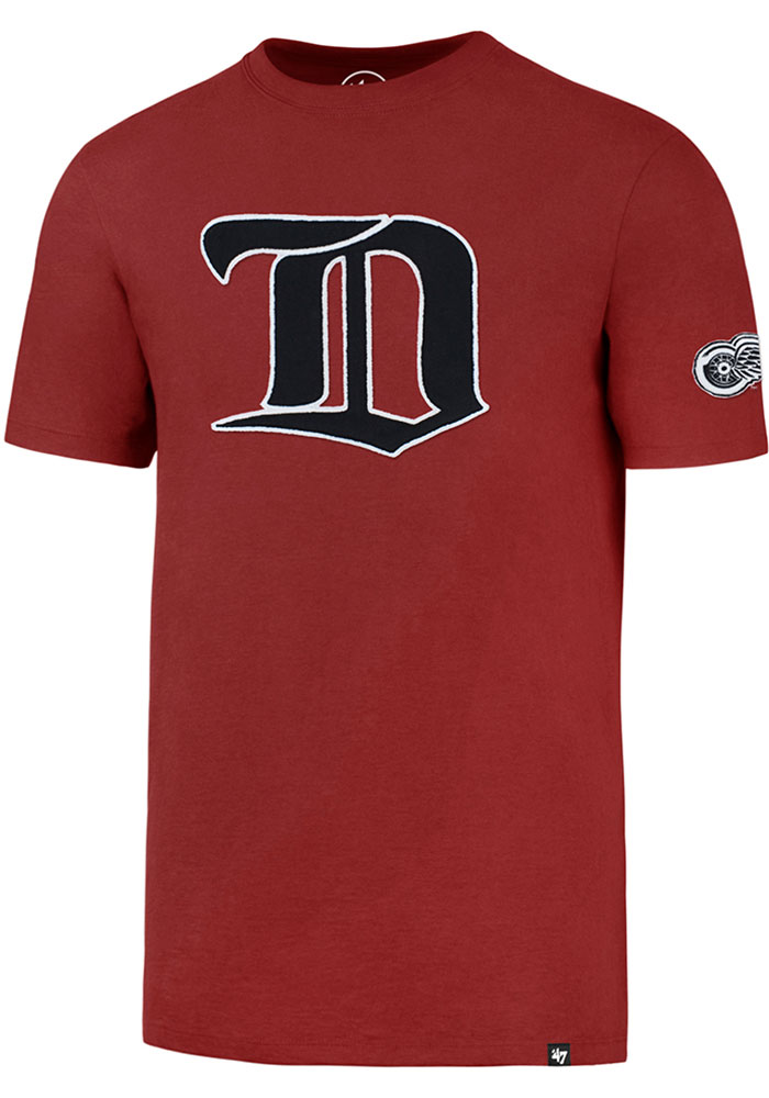 '47 Detroit Red Wings Red Fieldhouse Fashion Tee