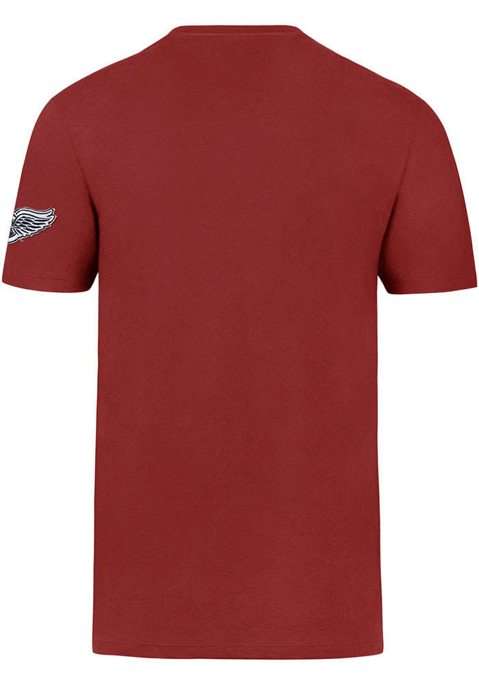47 Detroit Red Wings Red Fieldhouse Short Sleeve Fashion T Shirt - Image 2