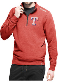 Texas Rangers 47 Forward Compete 1/4 Zip Pullover - Red
