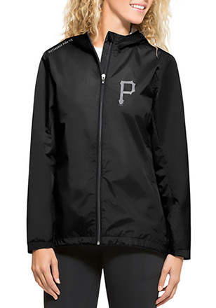 '47 Pitt Pirates Womens Black React Light Weight Jacket