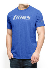 47 Detroit Lions Blue Two Peat Fashion Tee