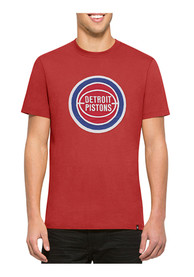 47 Detroit Pistons Red Knockout Fashion Tee