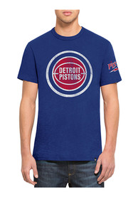 47 Detroit Pistons Blue Two Peat Fashion Tee