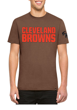 '47 Cleveland Browns Mens Brown Fieldhouse Fashion Tee